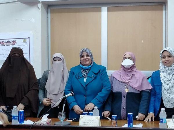 مناقشة رسالة الماجستير المقدمة من الباحثة شفاء عبدالناصر محمد السيد  بقسم تمريض الباطنة والجراحة يوم الثلاثاء الموافق ١٥/ ١٢/ ٢٠٢٠