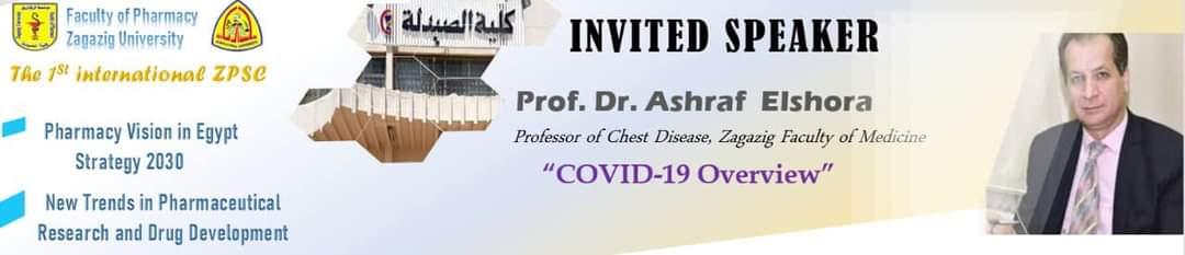 (nvited speaker Prof.Dr. Ashraf Elshora ( Overview about COVID-19