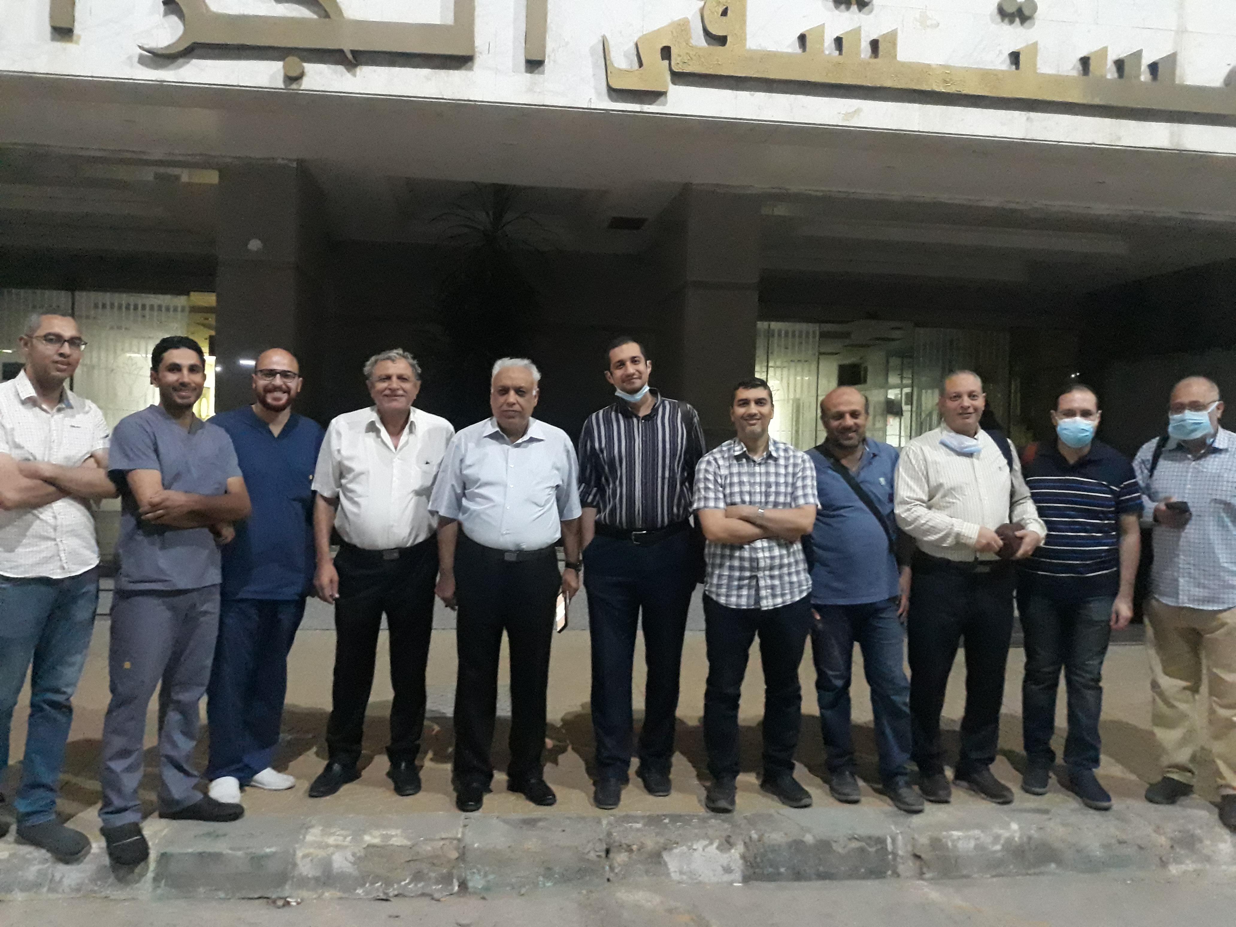 Another Liver transplant case in Zagazig University Hospitals