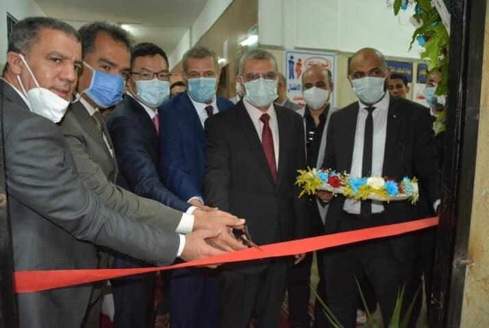 إفتتاح وحدة طب الجنين والموجات فوق الصوتية لأمراض النساء والتوليد بكلية الطب البشري جامعة الزقازيق