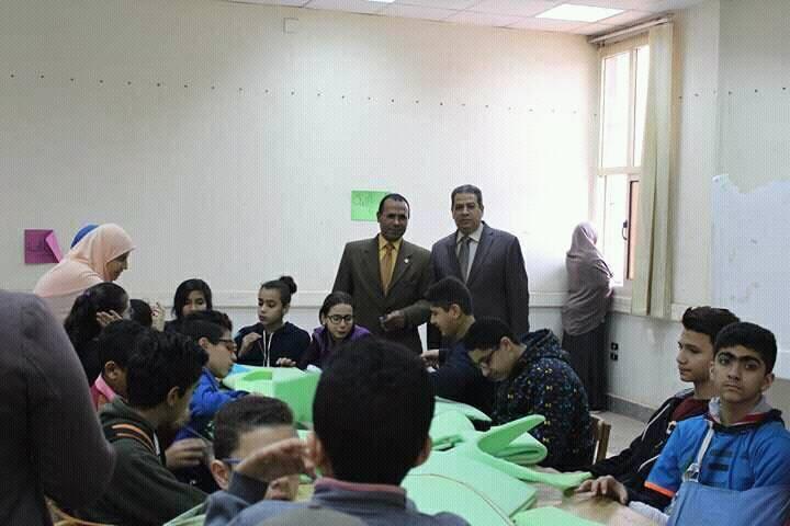 يوم فنى لجامعة الطفل بنوعية الزقازيق السبت 10/2/2018 م