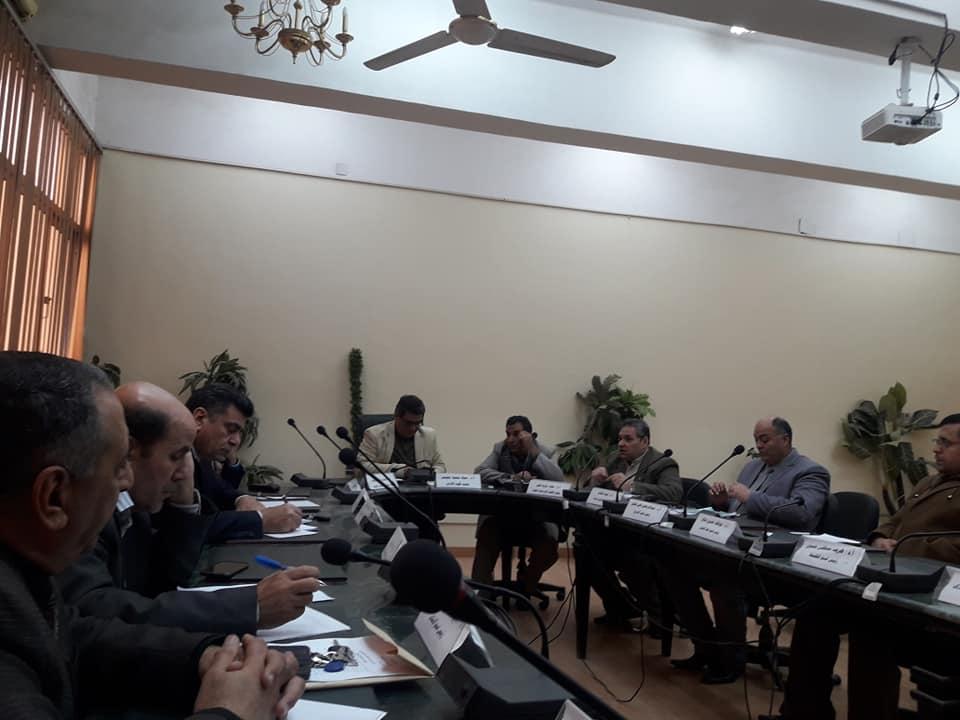 اجتماع وحدة تعليم الكبار بكلية الآداب جامعة الزقازيق يوم الثلاثاء الموافق 12 فبراير 2019