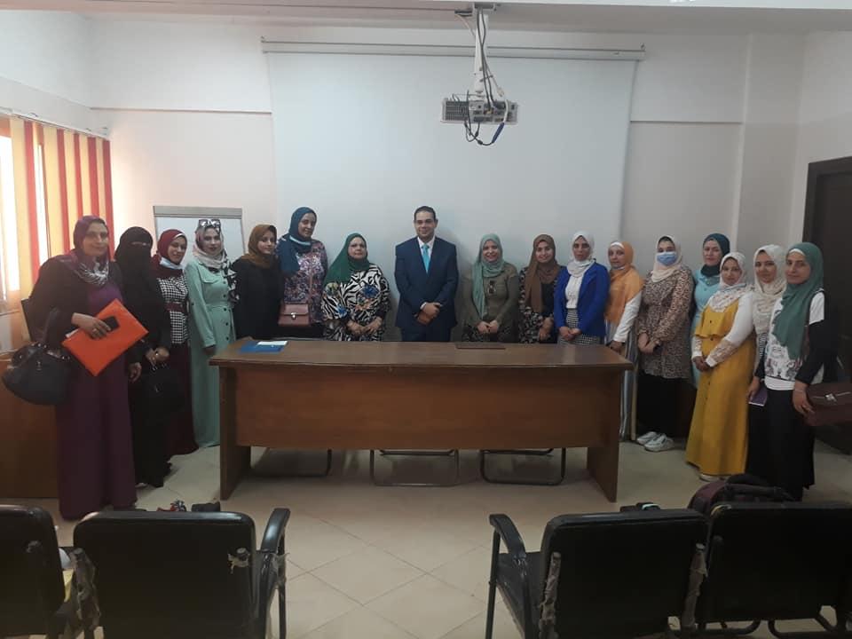 فعاليات ورشة حقوق المرأة بوحدة مناهضة العنف ضد المرأة