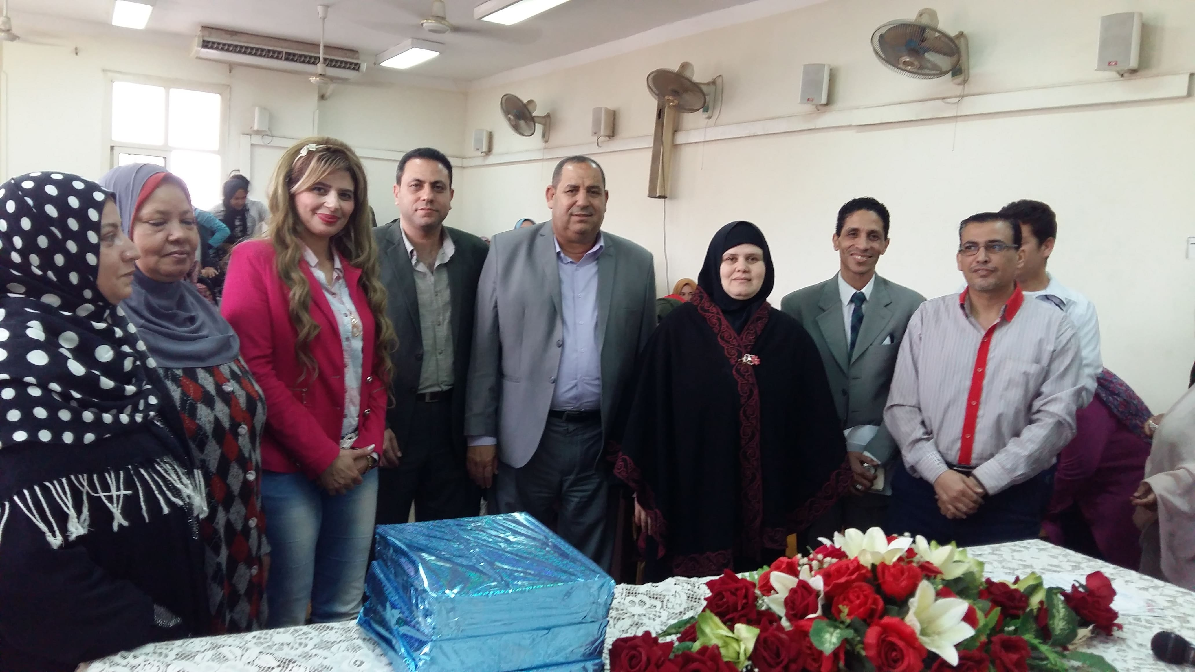 الأحتفال  السنوى  بعيد الام الذى نظمة اللجنة الإجتماعية باتحاد طلاب الكلية
