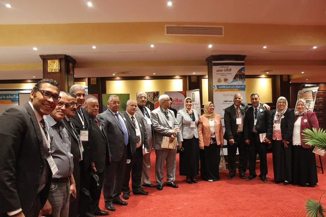 فعاليات المؤتمر العلمى الثالث عشر لكلية الطب البيطرى مابين الصحة والاقتصاد