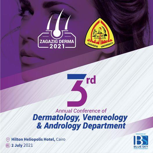 المؤتمر السنوي الثالث لقسم الجلدية والتناسلية - يوليو 2021