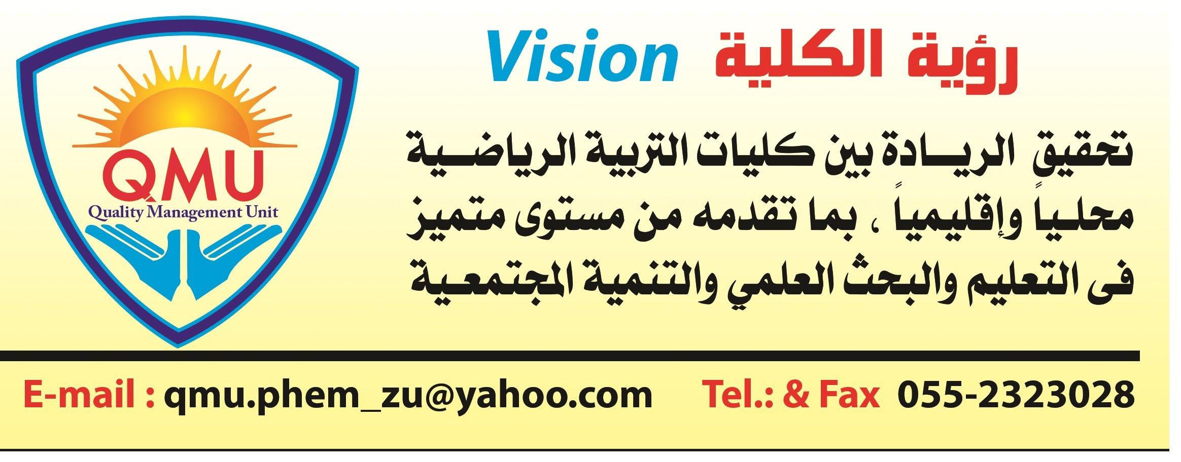 رؤية الكلية vision